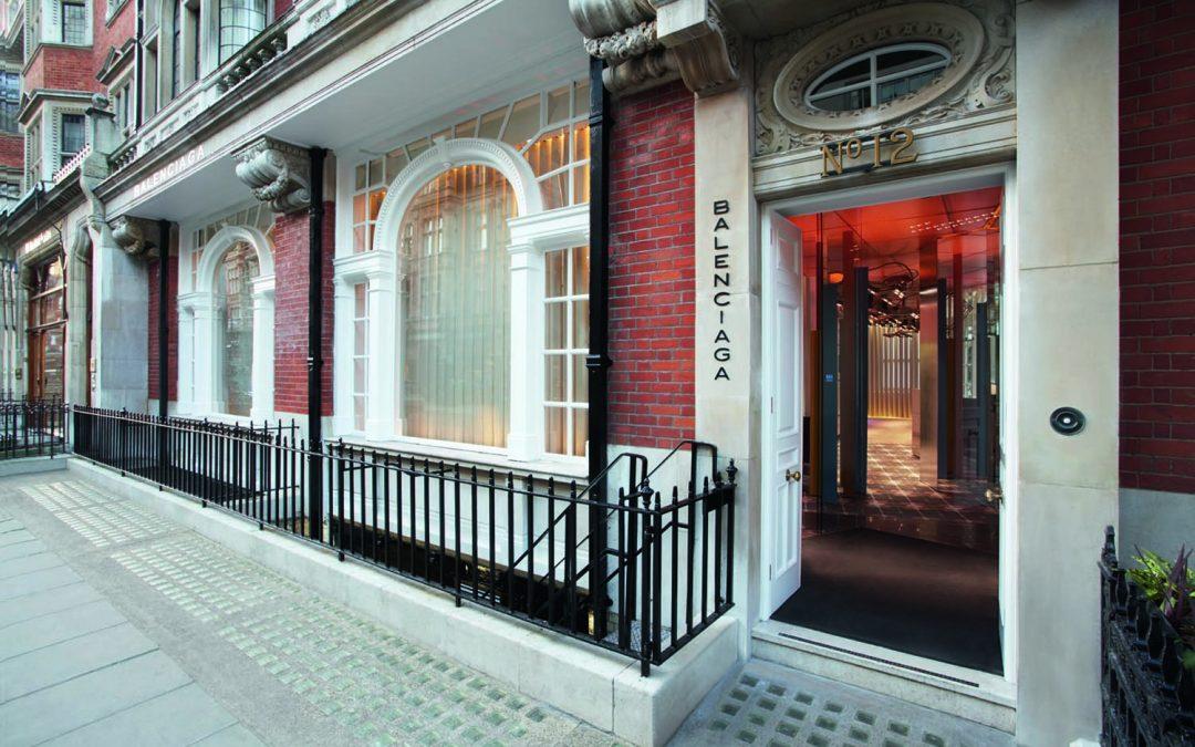 c8d4847745eda Balenciaga Mount Street - Architects Brighton - London - Europe