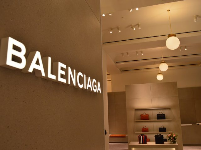 Balenciaga in Selfridges London
