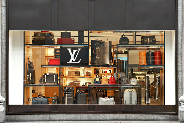 Luis Vuitton Selfridges